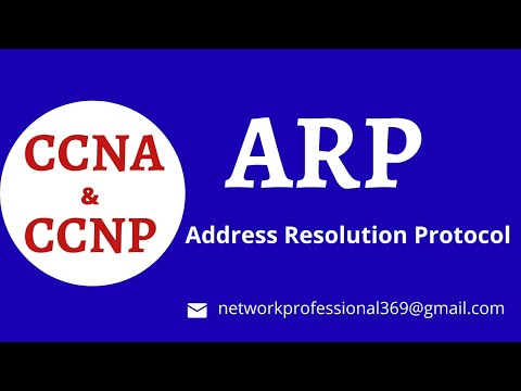 ARP - Address Resolution Protocol  Explained |  Step By Step || CCNA Routing & Switching