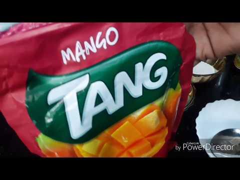 Mango Tang Milk Juice  Quick & Simple