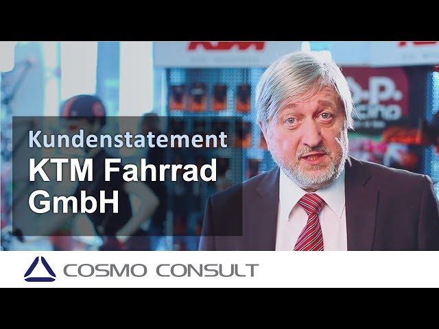 Referenz zu Microsoft Dynamics CRM - KTM Fahrrad GmbH