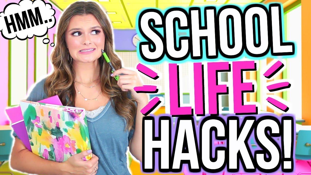f7de080542a1 Back to School Life Hacks!! | Life Hacks for Girls! - YouTube