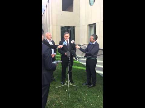 Anthony Albanese & Dean Summers Press Conference