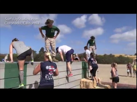 US Military Boot Camp Challenge - Marine Drill Instructors