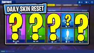 The NEW Daily Skin Items In Fortnite: Battle Royale! (Skin Reset #33)