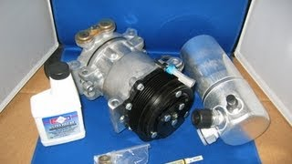 96 99 chevy tahoe ac compressor kit air conditioning part