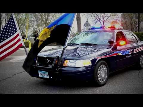The Thin Blue Line Memorial Vehicle