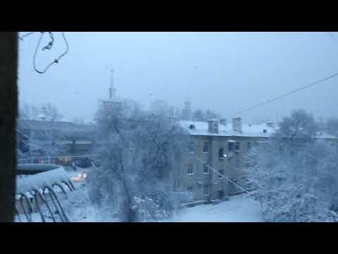 Heavy snowfall.....in BISHKEK