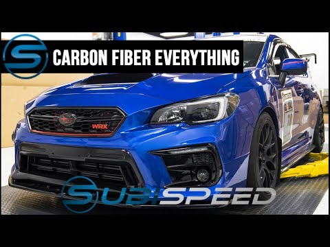 Subispeed - Carbon Fiber Everything - Exterior