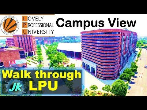 Walk through LPU by JKtricks | Lovely Professional University-LPU campus view
