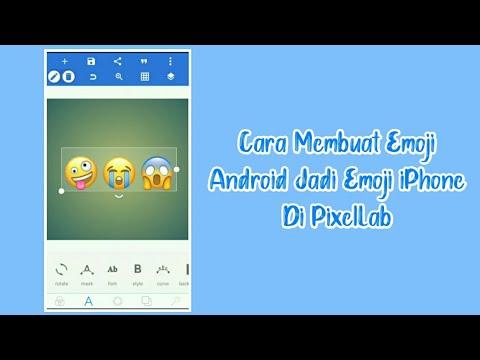 Cara Membuat Emoji Android Jadi Emoji IPhone Di PixelLab || Cara Rani ||