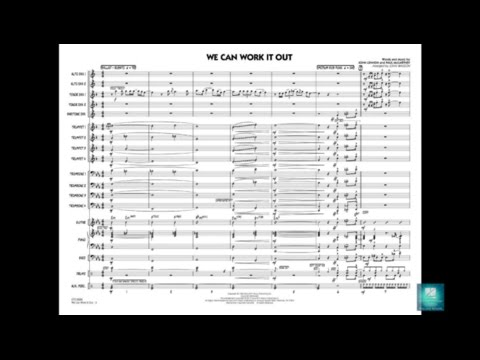 We Can Work It Out arranged by John Wasson