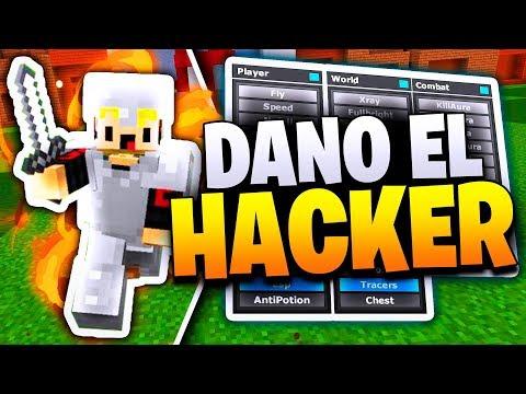DANOMC USANDO HACKS   DANOMC SE TRANSFORMA EN HACKER!!