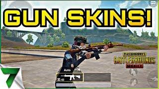 NEW GUN SKINS IN GAME! FPP GRIND!! | PUBG MOBILE