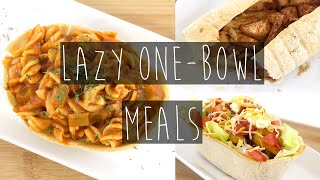 Simple One- Bowl Meal Recipes FOR LAZY PEOPLE | Eva Chung