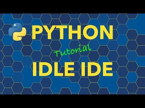 Python IDLE IDE