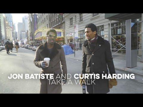Jon Batiste And Curtis Harding Take A Walk