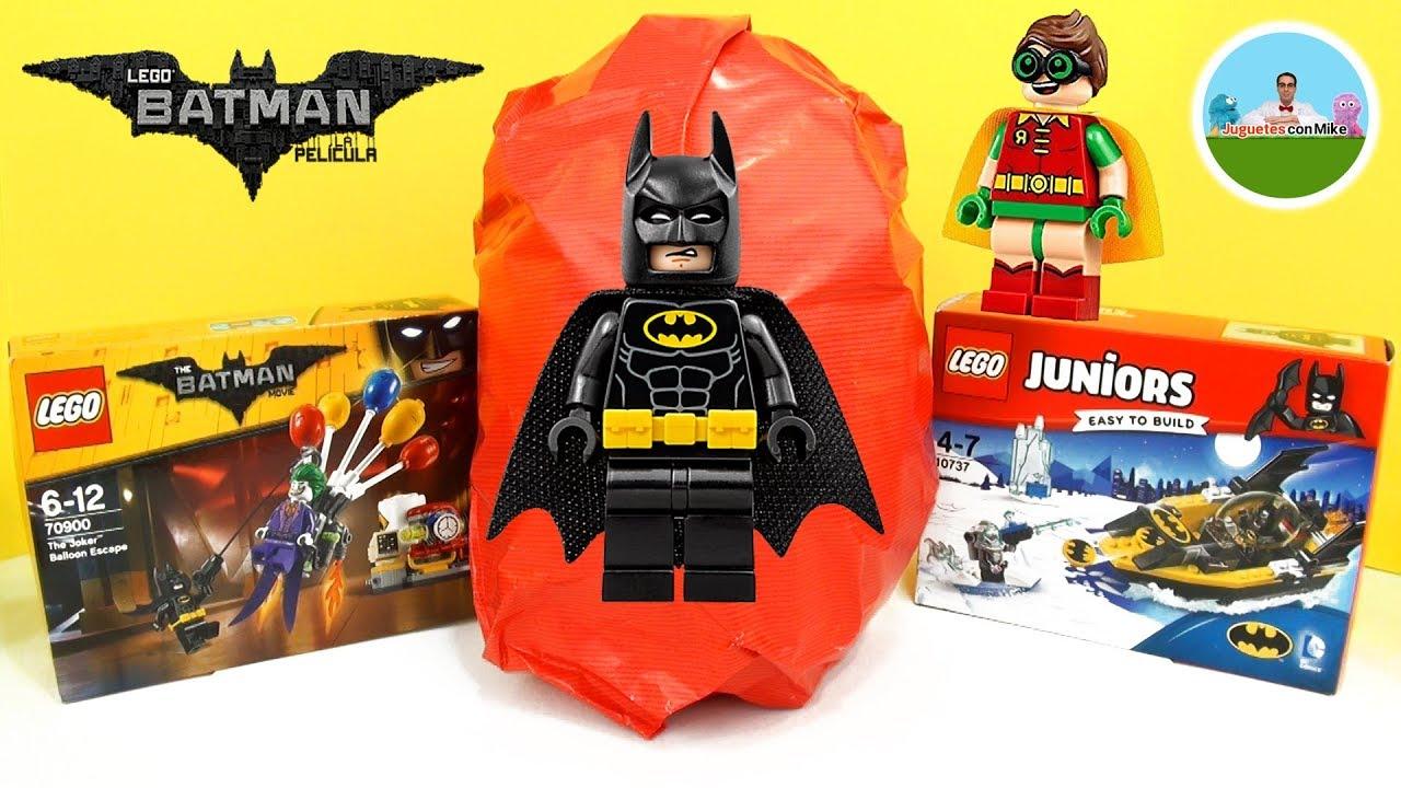 Juguetes En Español Con Huevo Batman Lego La De Película Sorpresa Gigante 5Ljq4AR3