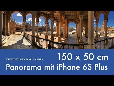 Panorama Foto mit iPhone 6S Plus