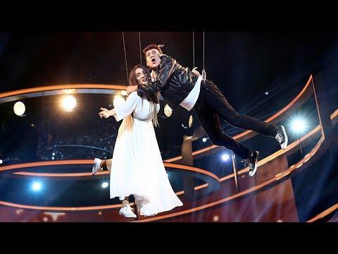 Silvia Abril y José Corbacho son Amaia Romero y Alfred García con 'Tu canción' - Tu Cara Me Suena