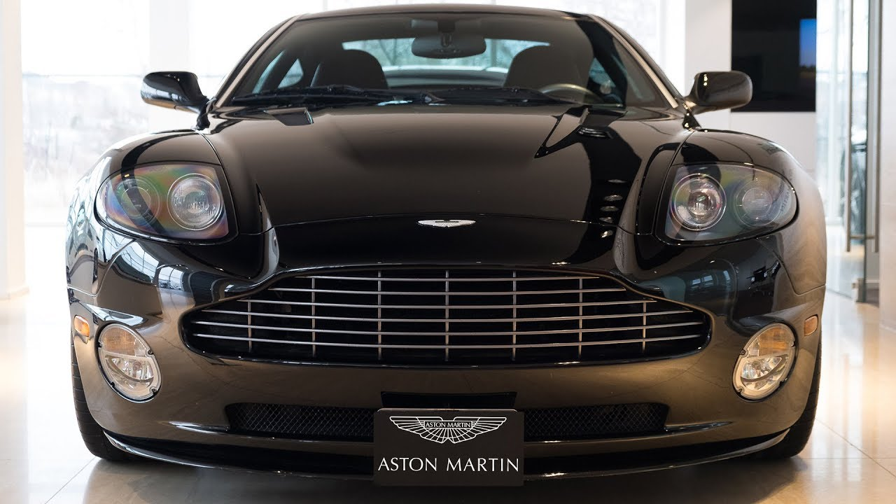 Aston Martin Vanquish S A Legend Youtube