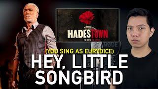 Hey, Little Songbird (Hades Part Only - Karaoke) - Hadestown