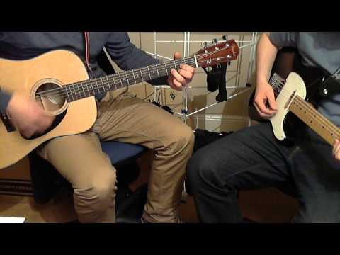 Rolling Stones - Dead Flowers Acoustic and Electric Guitar Cover (HD)