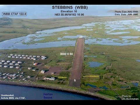 "FSX Flying Wild Alaska: ""Nome (OME) to Stebbins (WBB)"""
