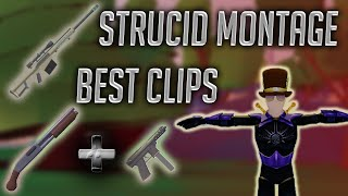 Heavy Sniper and Sawn-Off SHOTGUN Montage STRUCID BETA ROBLOX