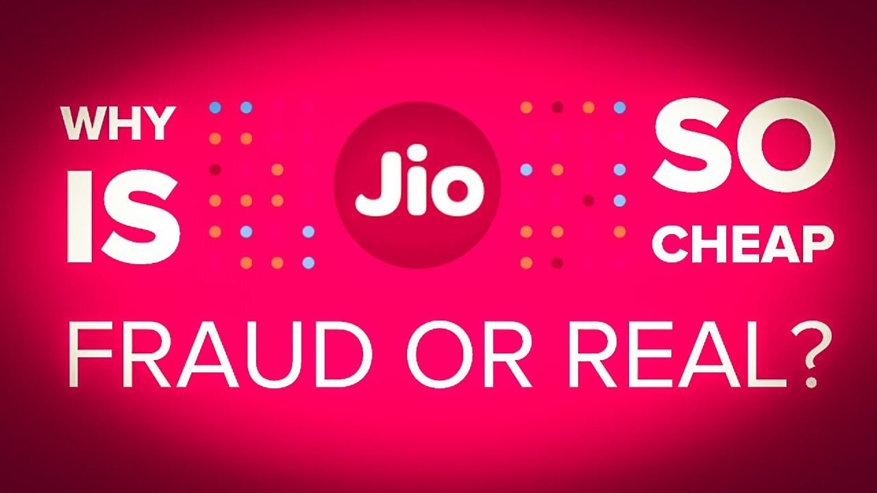 hindi why is reliance jio so cheap jio itna sasta kaise youtube