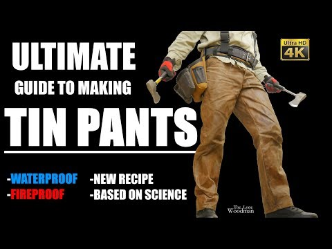 THE ULTIMATE GUIDE TO MAKING TIN PANTS
