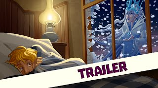 The Snow Queen read by Joanna Lumley, OBE - Trailer - GivingTales I Kids App