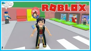 KERENN!!! A... THE WONDER WOMAN-ROBLOX UPIN IPIN
