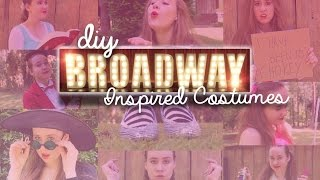 13 DIY Broadway Musical Inspired Costumes | Costumes With Creatie