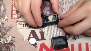 замена батарейки выкидного ключа cherry m-11!!!
