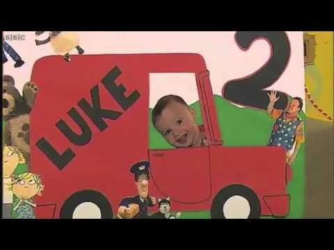 Luke Cbeebies Birthday Card Youtube