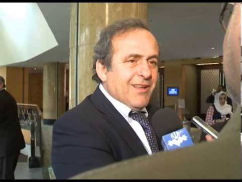 Michel Platini interview with hamid emami