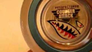 Демонстрация комплектации yo-yo yoyofactory counter attack