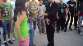 Melb Shuffle,Tecktonik, OldSkool Jump Versus@magik green 2010(Chile)