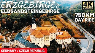 Erzgebirge & Elbsandsteingebirge // 750 km Day Ride // KTM 1290 Super Adventure S