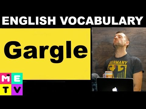 English Vocabulary | Gargle