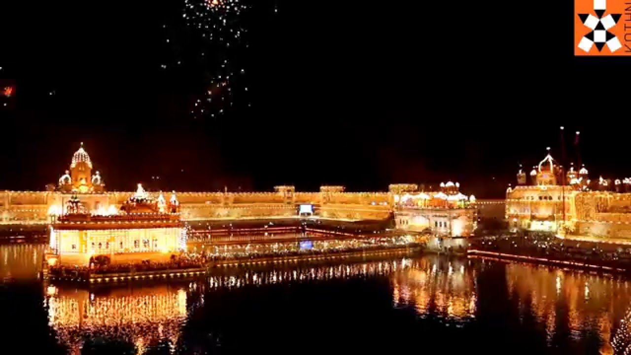 Diwali 2015 At The Golden Temple Amritsar Youtube