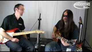 Mesa Boogie Transatlantic TA-15 Head demo at Andertons - Part 2 of 2