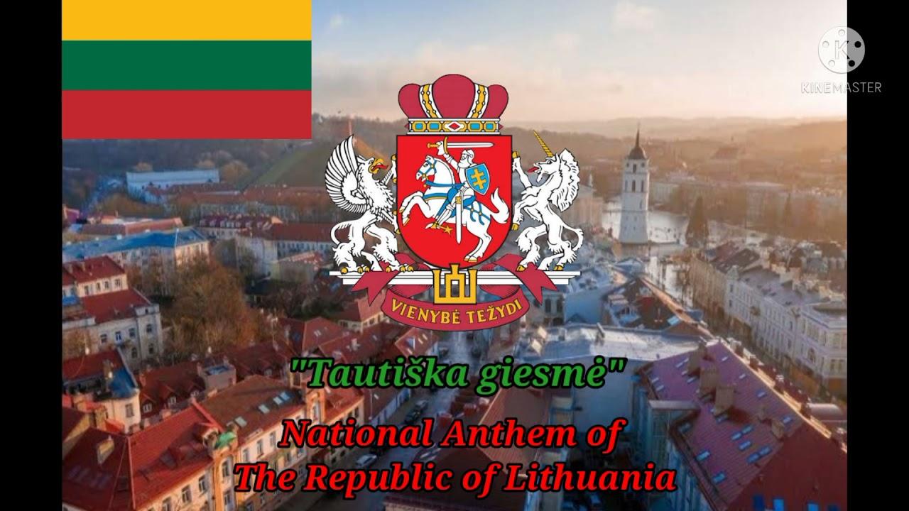 """Tautiška giesmė"" – National Anthem Of Lithuania (With Lithuanian, English, and Indonesian Lyrics)"