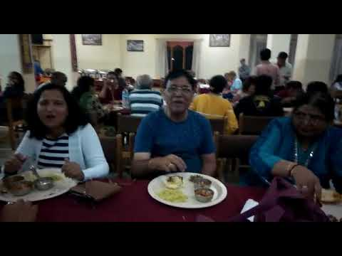 Guest enjoying Delicious Dinner in our Bhutan Tour | Heena Tours