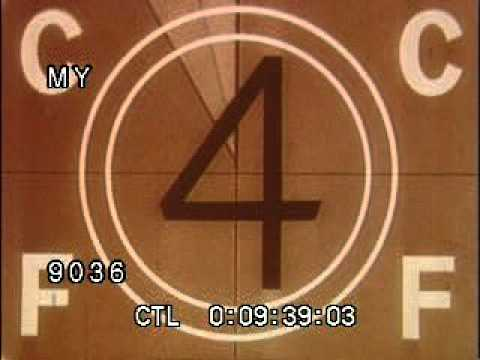 Stock Footage - Film Leader and Countdown