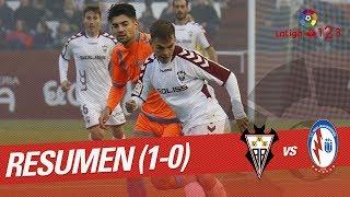 Resumen de Albacete BP vs CF Rayo Majadahonda (1-0)
