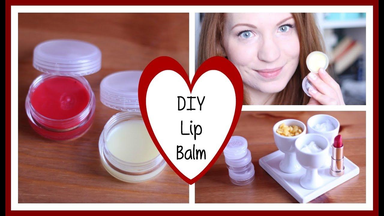 diy lip balm ohne vaseline i 3 varianten youtube. Black Bedroom Furniture Sets. Home Design Ideas