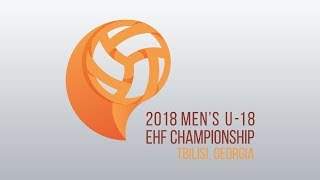 Luxembourg - Finland (5-8 Place) Men's U18 EHF Championship