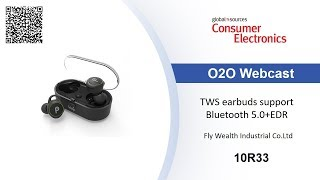 TWS earbuds support Bluetooth 5.0+EDR - Consumer Electronics Show