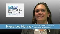 Nyssa Murray - Web Design - TAFE Illawarra