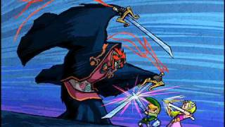 The Legend of Zelda The Wind Waker - Ganondorf Battle